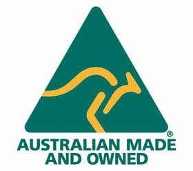 Australian made owned full colour logo