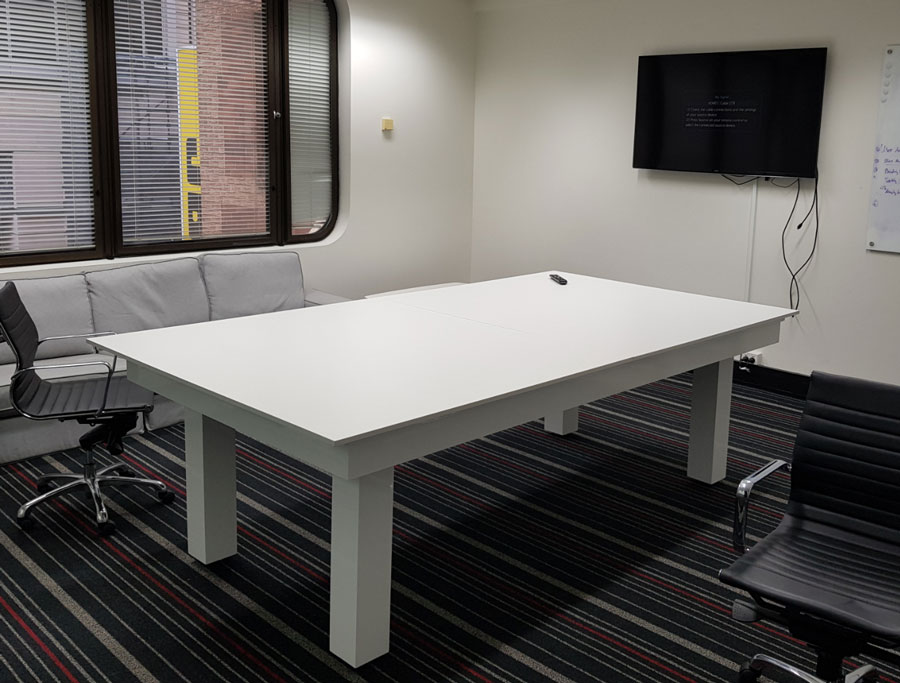 Corporate room in the heart of Perth, Western Australia.