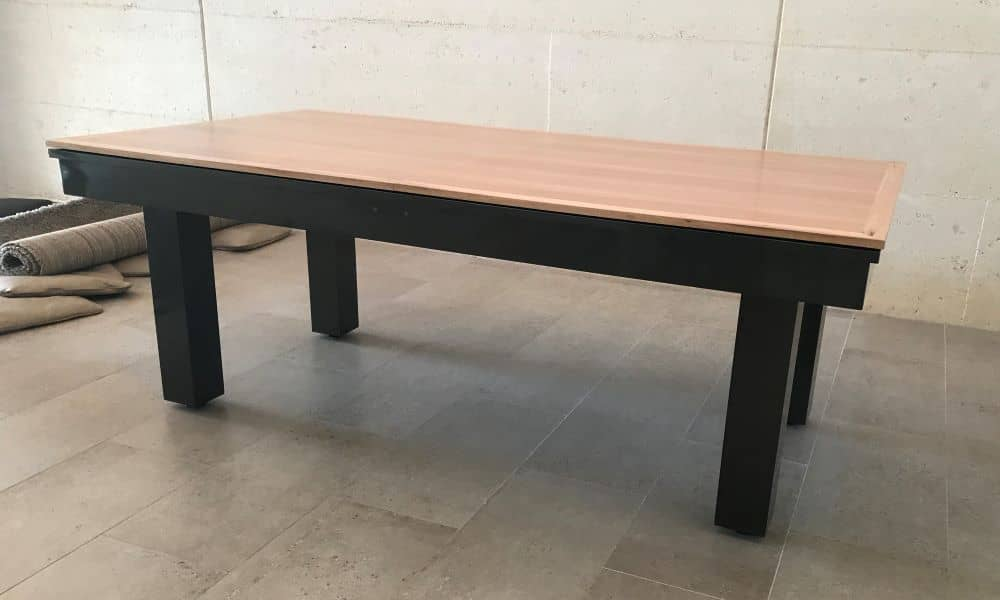 Precision 7ft. Midnight with timber dining top