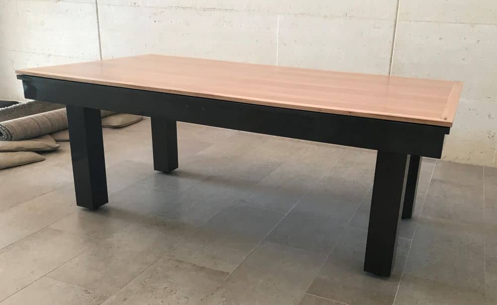 The Precision Midnight with timber dining top